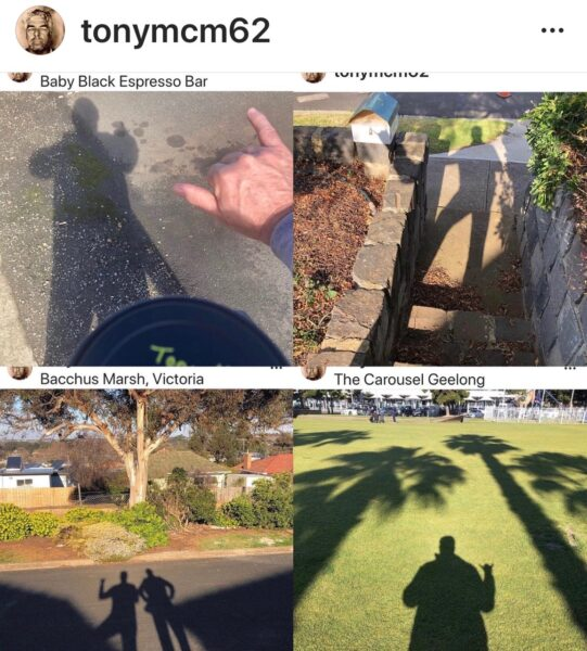 Tonys Shadow Selfies Image