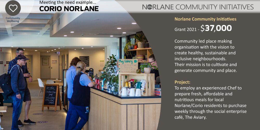 Norlane Community Initiatives Front Slide 1
